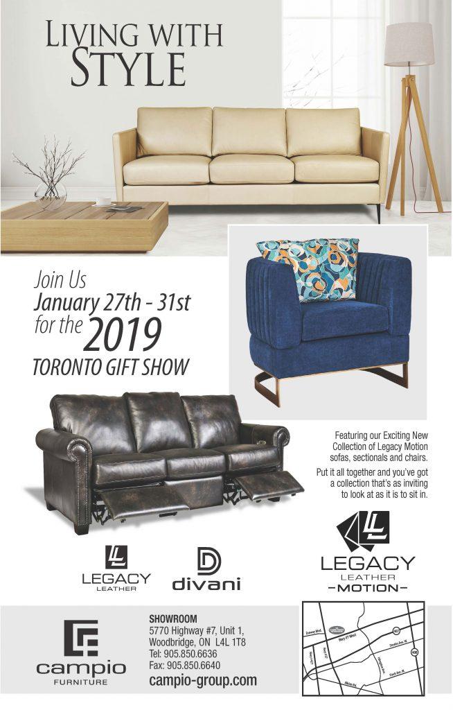toronto gift show 2019 campio group. Black Bedroom Furniture Sets. Home Design Ideas